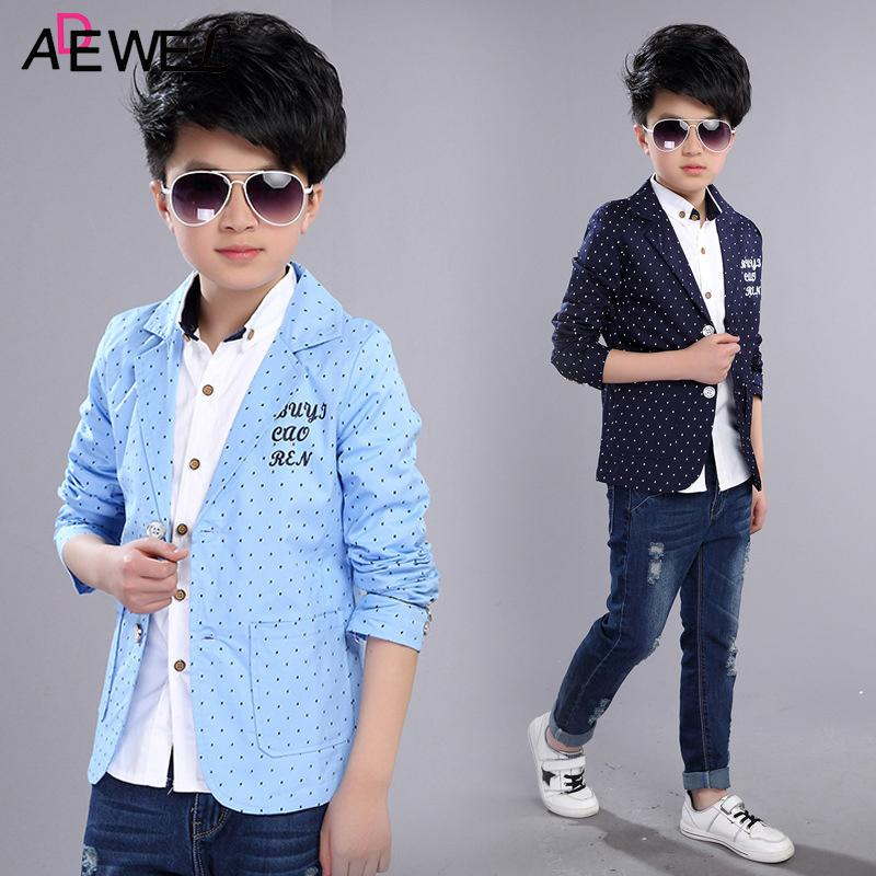 6f5e0d12dd23 Formal Boys Coats 2018 New Spring Autumn Kids Jackets For Boy 3 4 5 ...