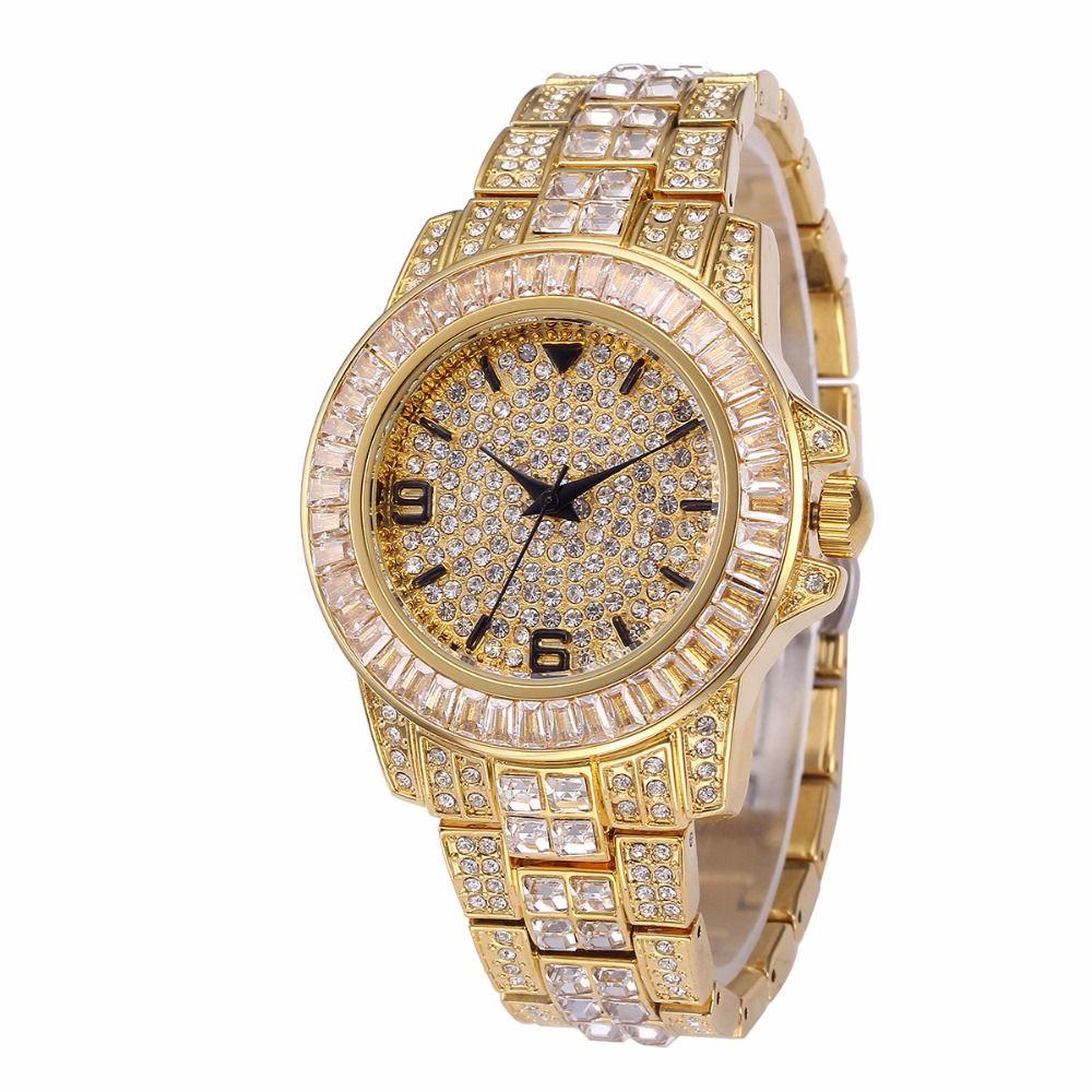 Compre Rolexe Relojes Mujer Missfox Marca De Lujo De Oro Relojes De Pulsera  Para Mujer Uhr Bling Diamond Reloj Analógico De Cuarzo Femenino 03 A  26.89  Del ... 091f838da709