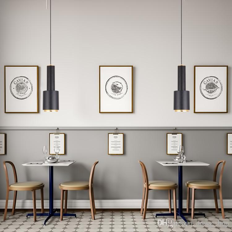 loft American Vintage Pendant Lamp For Kitchen Dining Room E27 hanging lamp