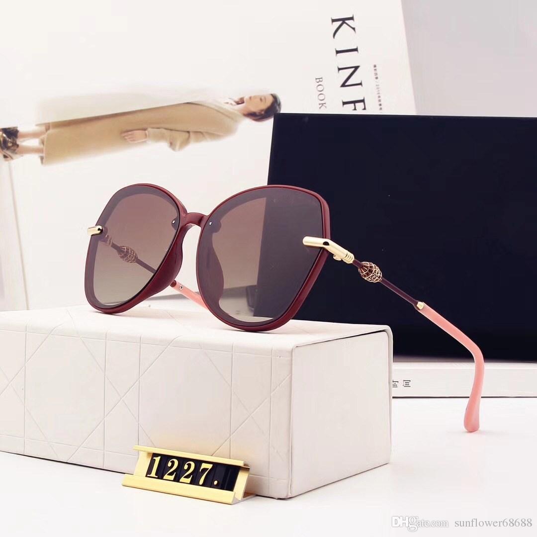 Großhandel New Chanel 1227 Mode Vintage Sonnenbrille Frauen Marke ...