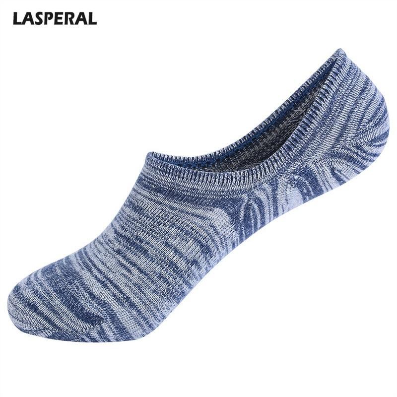 6558070a10d8 LASPERAL Comfortable Socks Fitness Crew Socks Summer No Show For Men ...