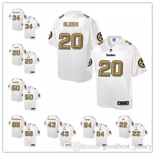 7a8c2f77f 2018 Men 19 Juju Smith Schuster 90 T.J. Watt 84 Antonio Brown 30 James  Conner Jersey Pittsburgh Steelers Football Jerseys From Wgtrade jersey