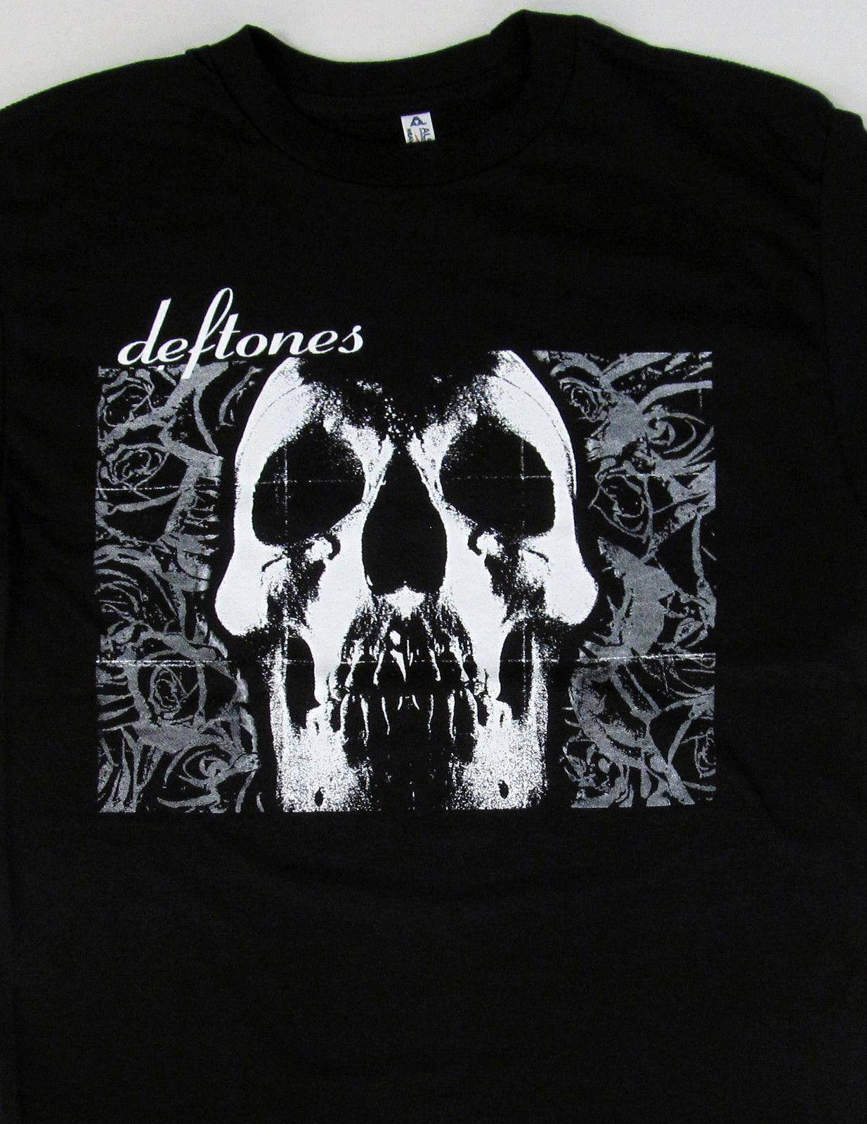 53967e9f1 Deftones T Shirt Rock Nu Metal Skull Tee Adult Mens O Neck Fashion Casual  High Quality Print T Shirt Loose Clothes UK 2019 From Margat, GBP £9.13 |  DHgate ...