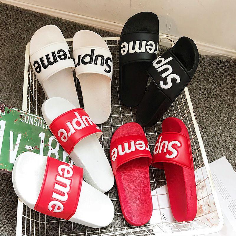 f5227c64c7179 Mens Luxury Slippers Branded Letters Desinger Slides Flip Flops Summer Skid  Resistance Flat Slippers Shoes Optional Kids Boots Men Boots From Propcm