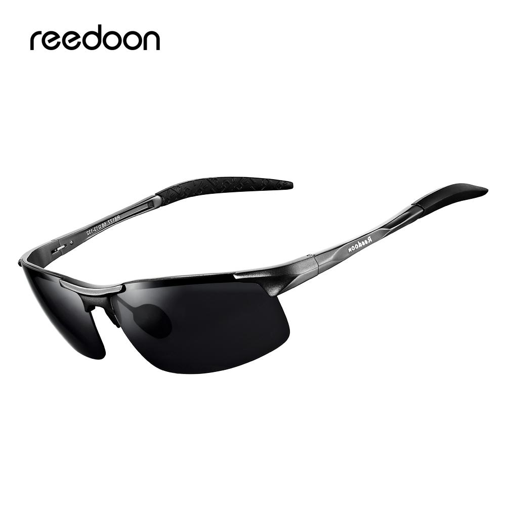 ff1280f1b4 Reedoon Polarized Sunglasses HD Lens Metal Frame Sport Sun Glasses ...