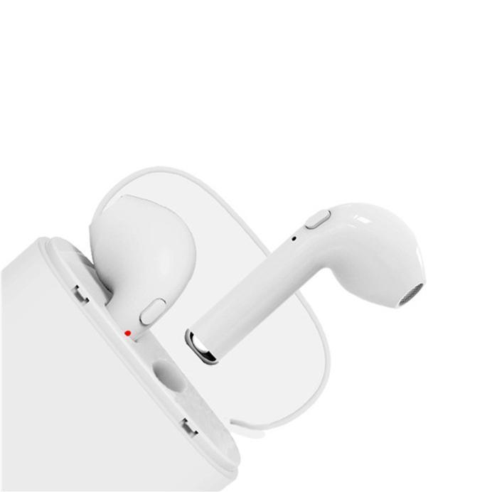 f53cda34976 Mini Bluetooth Headset, Two Wireless Earplugs, Micro Wireless Headset, Oppo  Universal Vivo Double Ear Split Type Belt Charging Compart Wireless Earbuds  Best ...