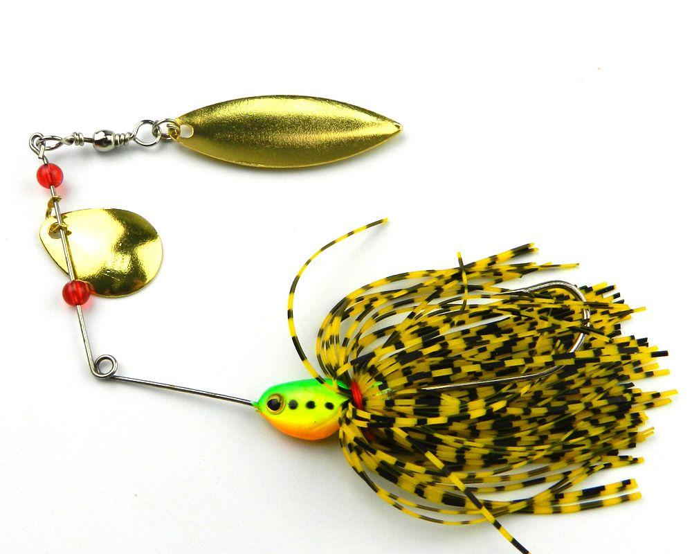 DHL Metal sequins bait Beard Fishing Lures FisBlack Feather Hooks 16.3g Simulation bait Multi specification Lead bait New Design