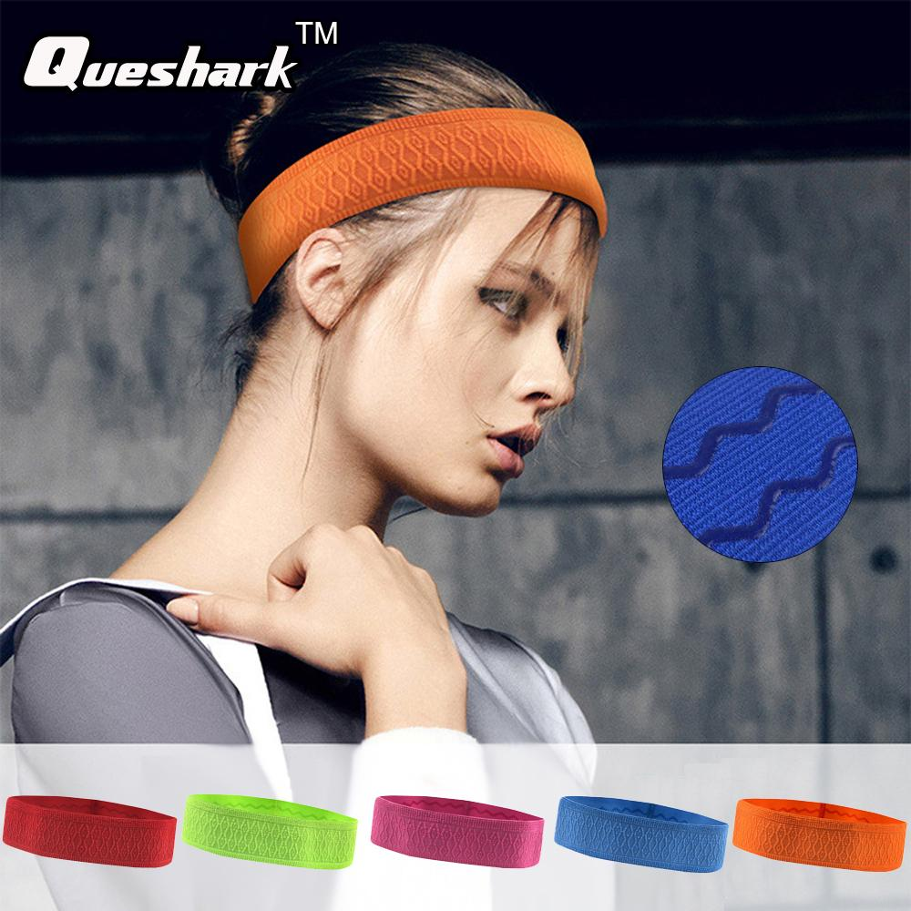 b066420fa757 Women Yoga Hair Bands Silicone Elastic Sweatband Cotton Knotted Wide Headband  Running Fitness Weightlifting Hairband Yoga Hair Bands Cheap Yoga Hair Bands  1 ...