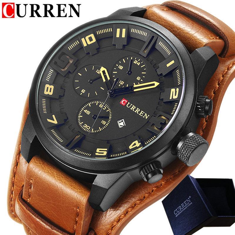 76d565ecd8c CURREN Watch Men Waterproof Calendar Sport Male Clock Top Brand Luxury Big  Dial Man Wristwatch Relogio Masculino 8225 Watches Watch Shop From  Chuhuaiking