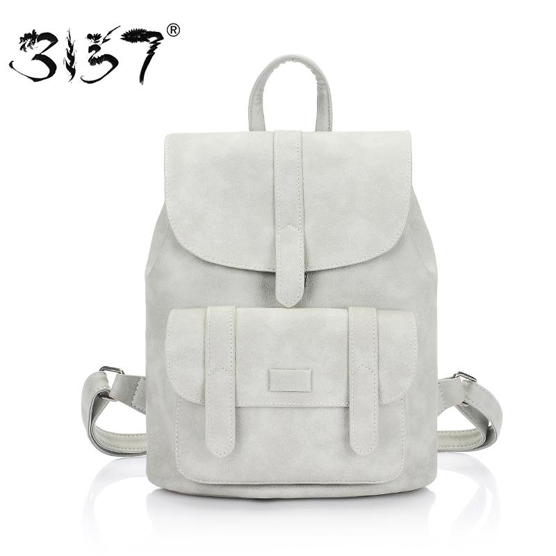 a24acd4e5247 3157 fashion women leather backpack for teengaers girls famous designer  cute school bags ladies high quality female backpacks Y18110201