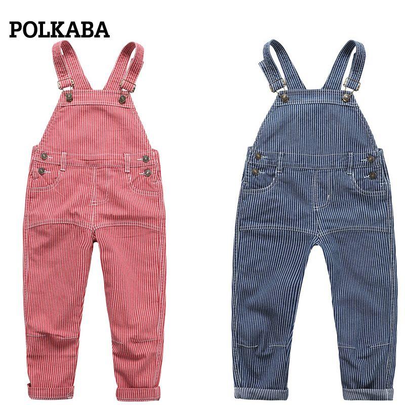 eecc8e878 Infant Kid Bib Pants Denim Overalls Children Spring Autumn Baby ...