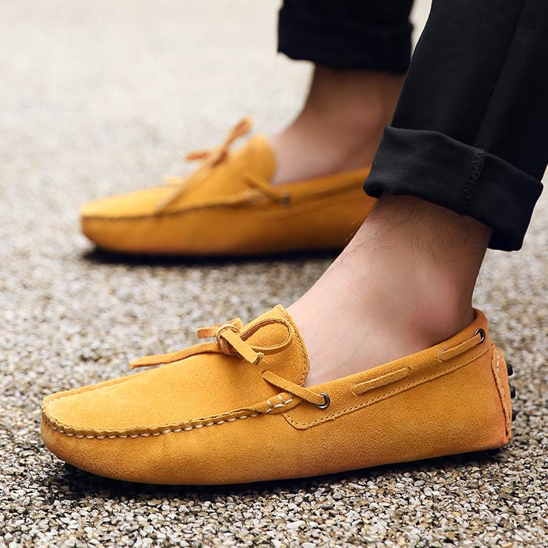 f0165d2150e 2018 Men S Driving Loafer Fashion Slipper Casual Slip On Loafers Boat Shoes  For Beach