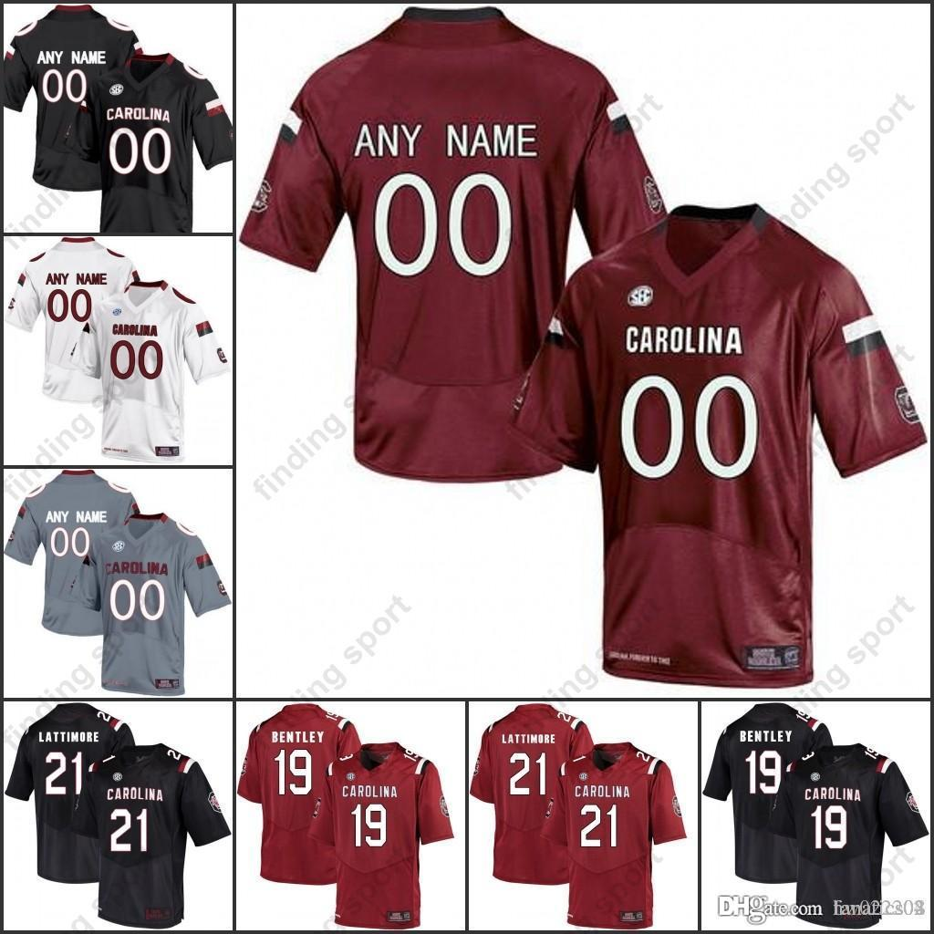 3e2537ded Custom NCAA South Carolina Gamecocks College Football Any Name Number  Jerseys Deebo Samuel Jake Bentley Jamyest Williams Clowney Online with   27.33 Piece on ...