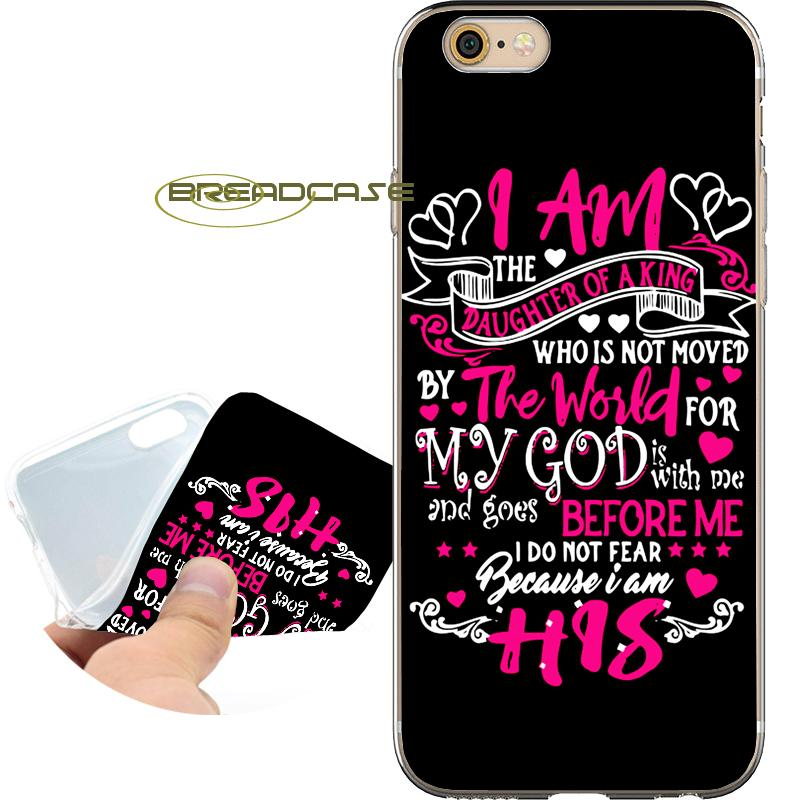 bible christian king quote cases for iphone 10 x 7 8 6s 6 plus 5s 5