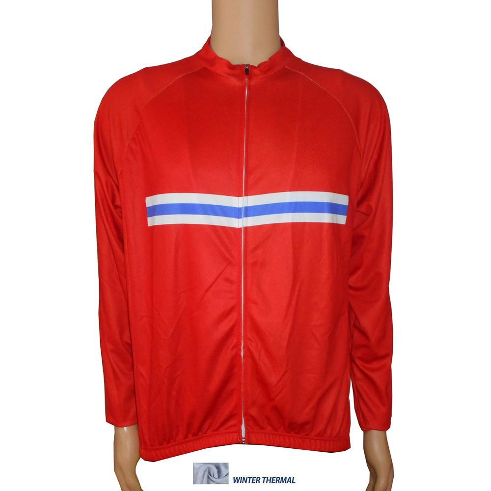 Popular Diseño Fresco Ropa Ciclismo Vellón De Invierno Camiseta De Ciclismo  De Carreras De Noruega Confeccionada Con Poliéster Italia Bolsillos  Traseros De ... 36a0db7b9efb
