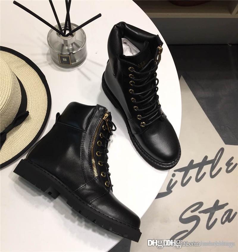 d8282e4a007 Acheter Balmain2018 Bottines Paris Taiga Ranger Femme Noir Cuir CHAUSSURES  TAANGA RANGER Avec Boîte De  152.29 Du Honeysunny