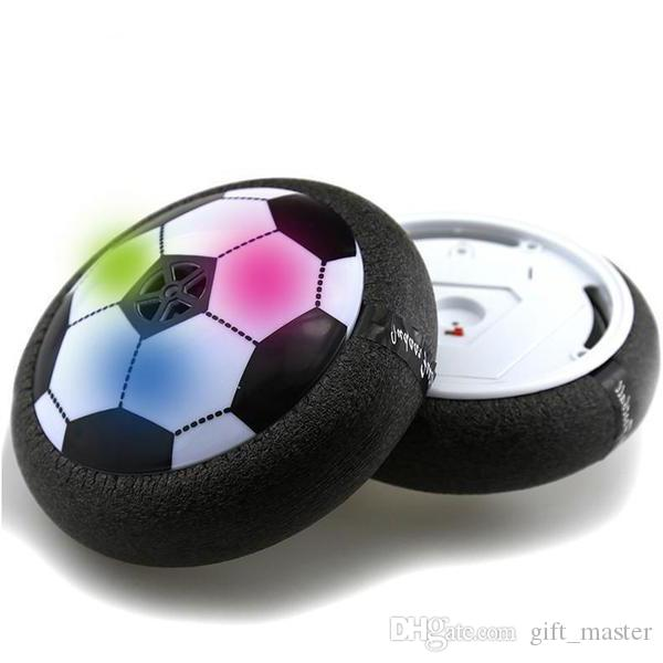 LED Hover Ball Indoor Magic Electric Air Soccer Training Suspension Football Game Kids Toy With Foam Bumpers J
