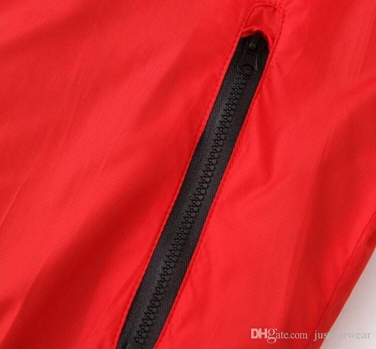 MENS Athletic Jacken Marke Kleidung für Männer Windbreaker Jacke Dünne Schlanke Frühling Sommer Sport Tragen Lässige Mäntel