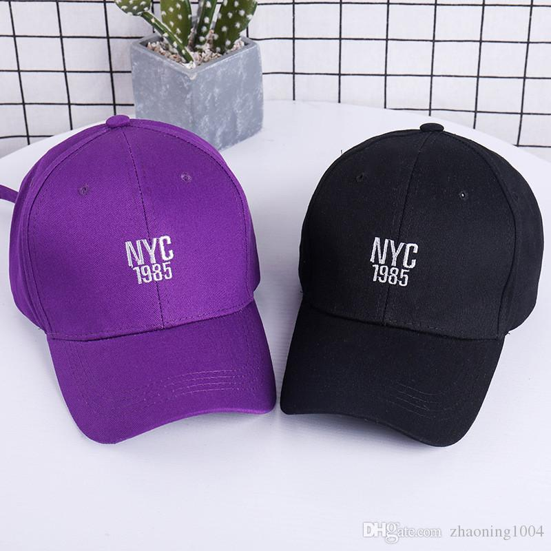 Designer NYC Adjustable Snapbacks Hats For Adults Mens Womens Baseball Caps  Hip Hop Cotton Spring Summer Man Woman Sports Sun Viosr Sale Toronto  Baseball ... 496ab26711