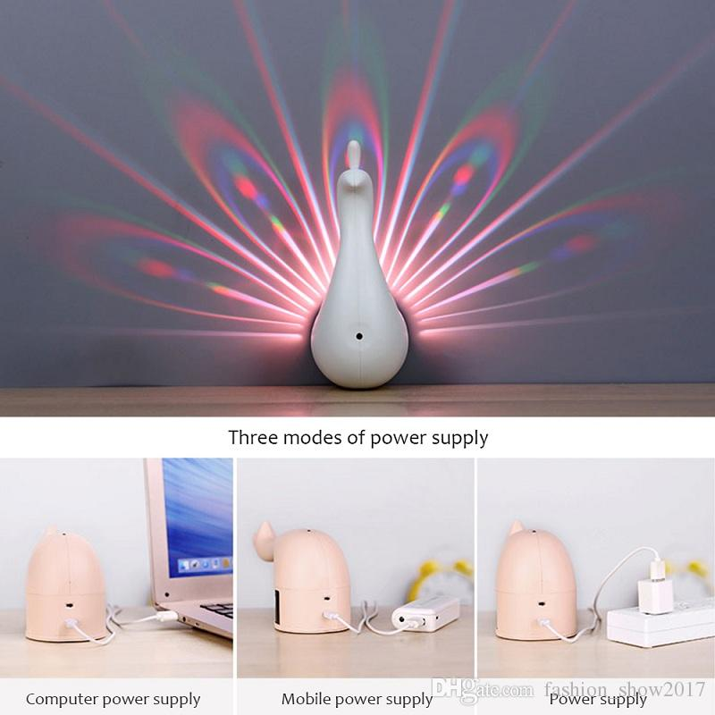 Led Peacock Light Wall Lamp Nordic Postmodern Creative Wall Light for Living Room Bedroom Bedside Corridor Aisle Decoration