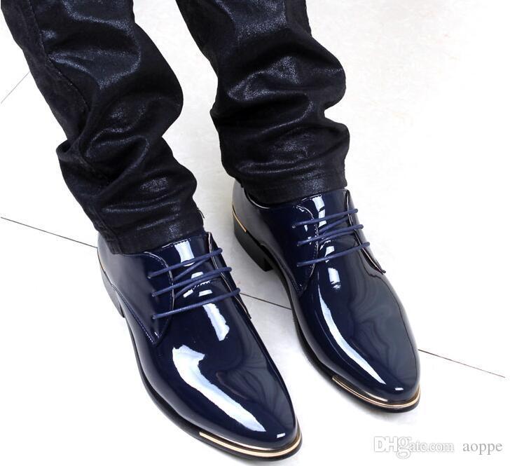 Para Tendencia Nueva 2018 Hombre Remaches Compre Mens Zapatos HYPqEw