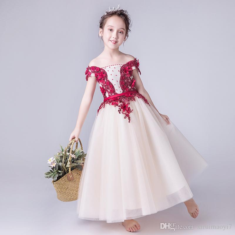 d484bf9b42f Cheap Sequin Flower Girl Dress Lilac Discount Double Ruffle Girls Dresses