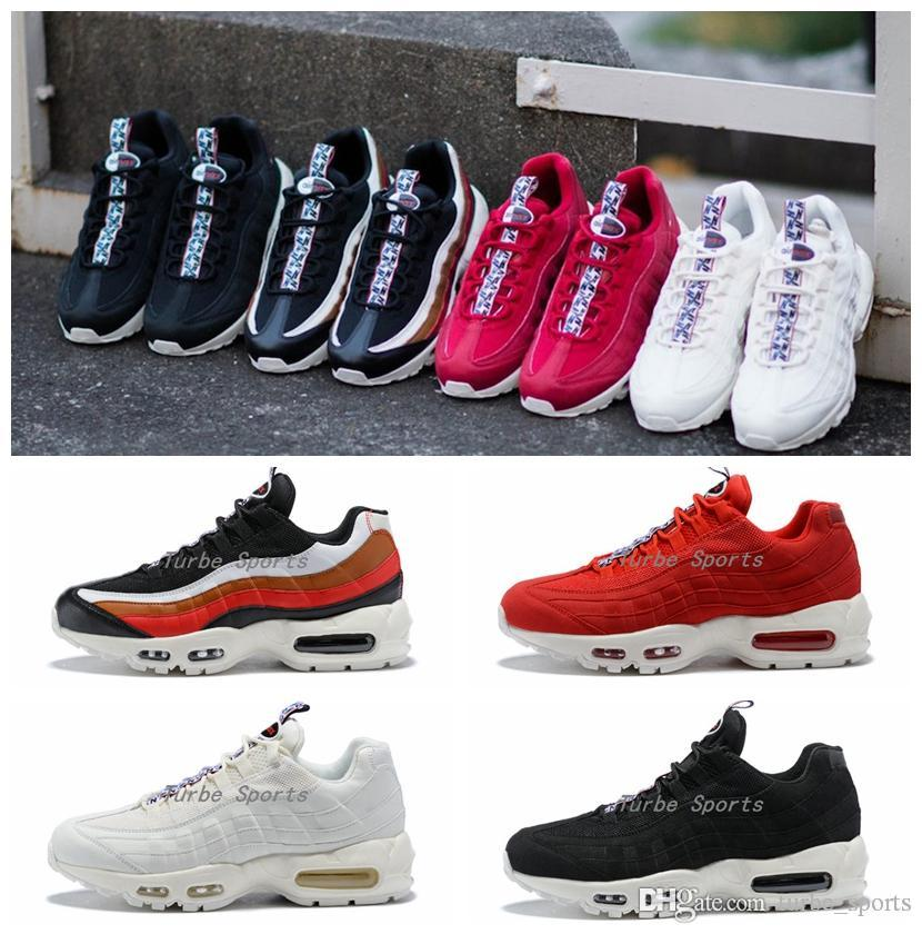 discount high quality outlet new styles 2018 New Shoes M 95 95s TT Ultra Pull Tab Pack Mens Womens Running Shoes OG Black White Red Bullet Sports Sneakers discount excellent shop for sale online y9WWI
