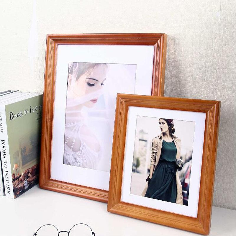 2018 Poster Hanger Wooden Photo Frame 71012 Inch Picture Frames