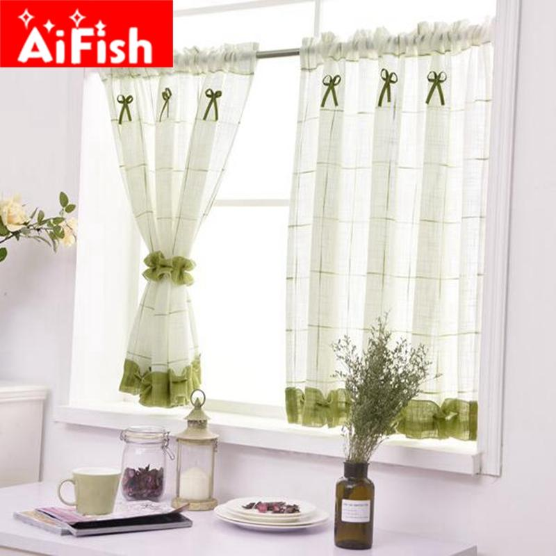 Merveilleux 2018 Romantic Sweet Lace Home Garden Screens Half Coffee Curtain Kitchen  Dust Proof Curtains Balcony Toilet Pritition Curtain 40 From Shutie, ...
