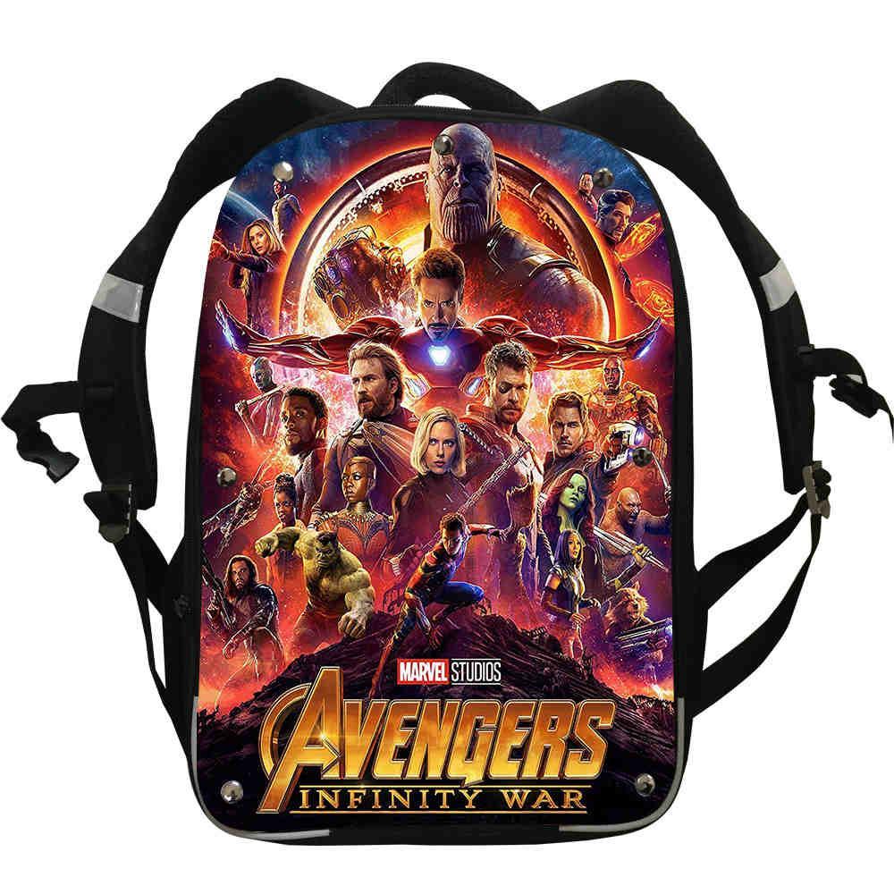 Acheter Sac À Dos Iron Spider Man Capitaine Infinity Anime Sacs D école  Occasionnels Enfant En Bas Âge Garçon Fille Adolescent Cadeau Bolsa De   28.43 Du ... 916286b5c6f