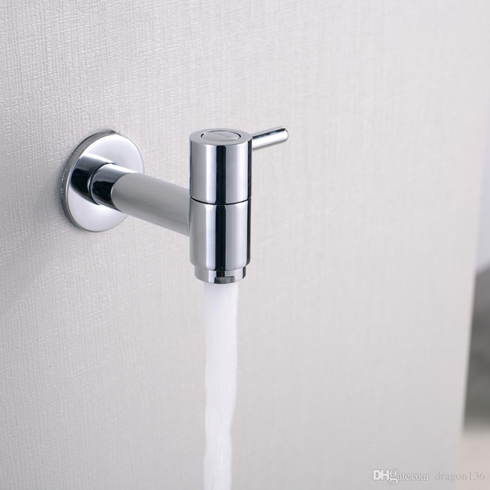 BLL Universal Brass Laundry Faucet Utility Mop Pool Faucets Grifo de agua, acabado en cromo 18011