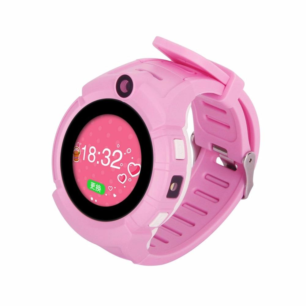 Digital Watches Men's Watches Child Cute Smartwatch Safe-keeper Sos Call Anti-lost Monitor Real Time Tracker For Children Base Station Location App Control Buy One Give One