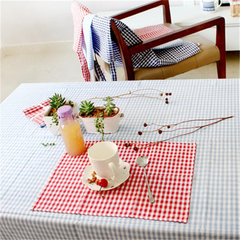 Home & Garden Table & Sofa Linens 38x60cm Table Napkin With Tassel Kitchen Towel Tableware Mat Dish Cloth Table Baking Decoration Cotton Ins Style