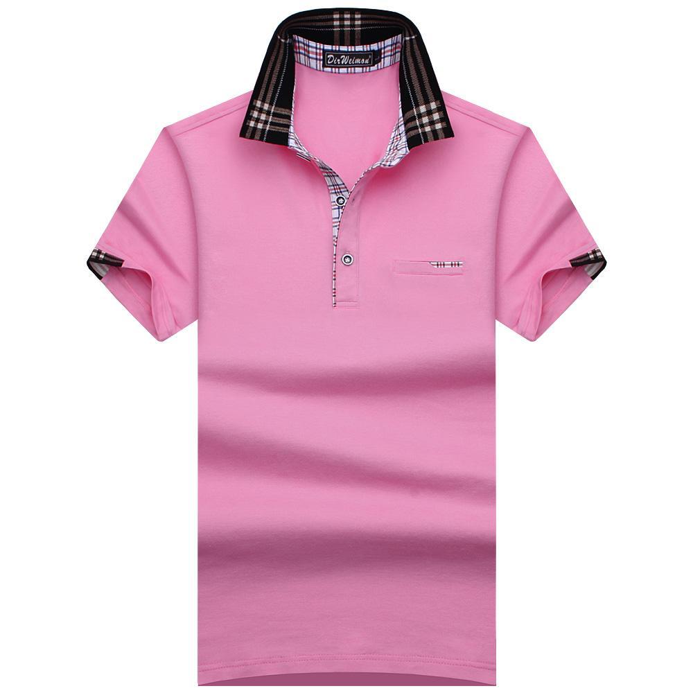 dae8188f07 Compre Novo 2017 Homens Verão Marca Camisa Para Homens Designer De Algodão  De Manga Curta Camisa Marcas Jersey Golftennis Tamanho S 10xl De Cacy