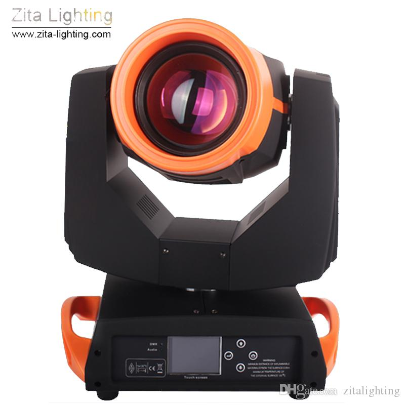 / Zita Iluminação 280W Moving Head Light 10R Movendo feixe iluminação de palco com caso DMX512 Movendo Sharpy DJ do evento do disco Atmosfera Effect