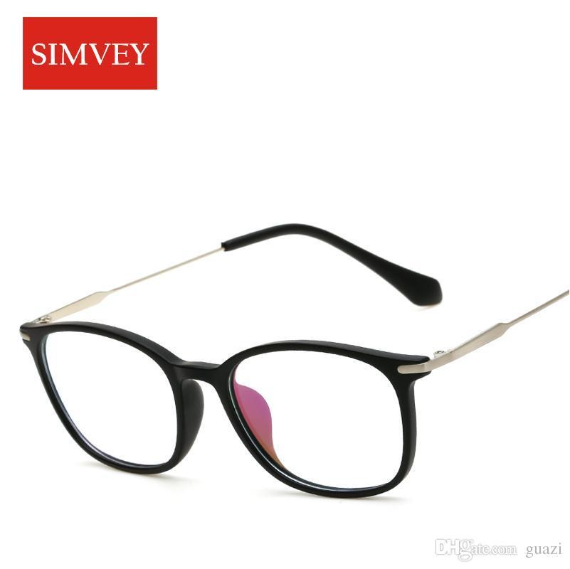 9833aeb338 2019 Simvey Fashion Retro Nerd Glasses Women Vintage Brand Designer Korean Optical  Glasses Frame Clear Lens Eyeglass Frames From Guazi