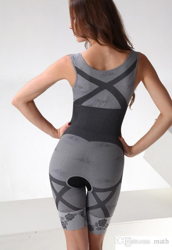 High Quality Slim Underwear Slimming Suits Body Shaper Bamboo Charcoal Sculpting Underwear shaper Intimates