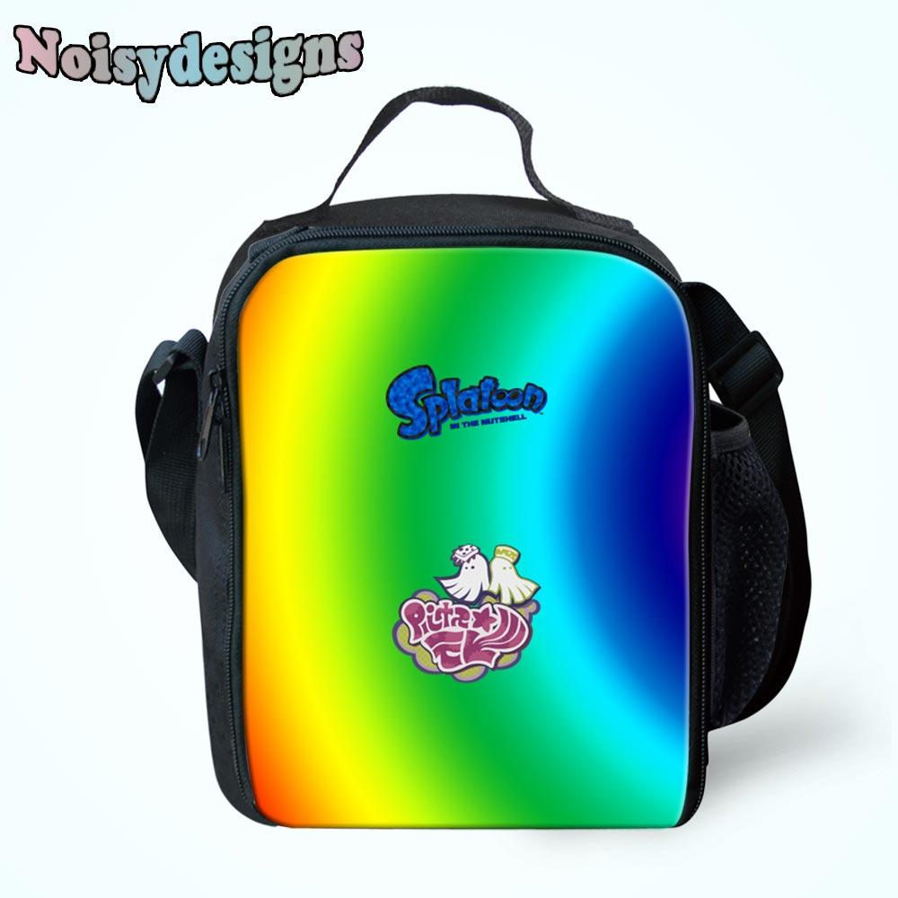 354f52c36043 NOISYDESIGNS Hot Sale Splatoon Cartoon Printed Lunch Bags Insulated ...