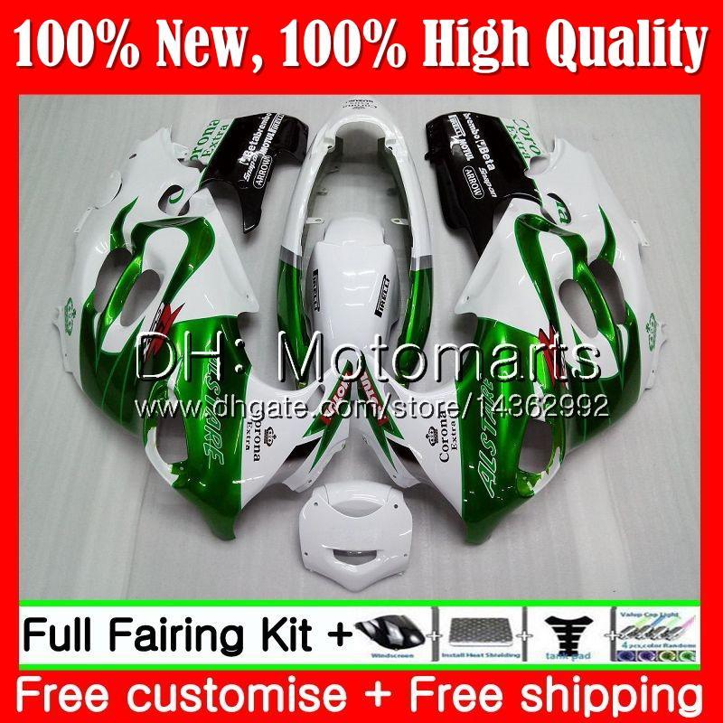 Cuerpo para SUZUKI Green CORONA KATANA GSXF 600 750 GSXF750 03 04 05 06 07 22MT13 GSX600F GSXF600 2003 2004 2005 2006 2007 Fairing Bodywork