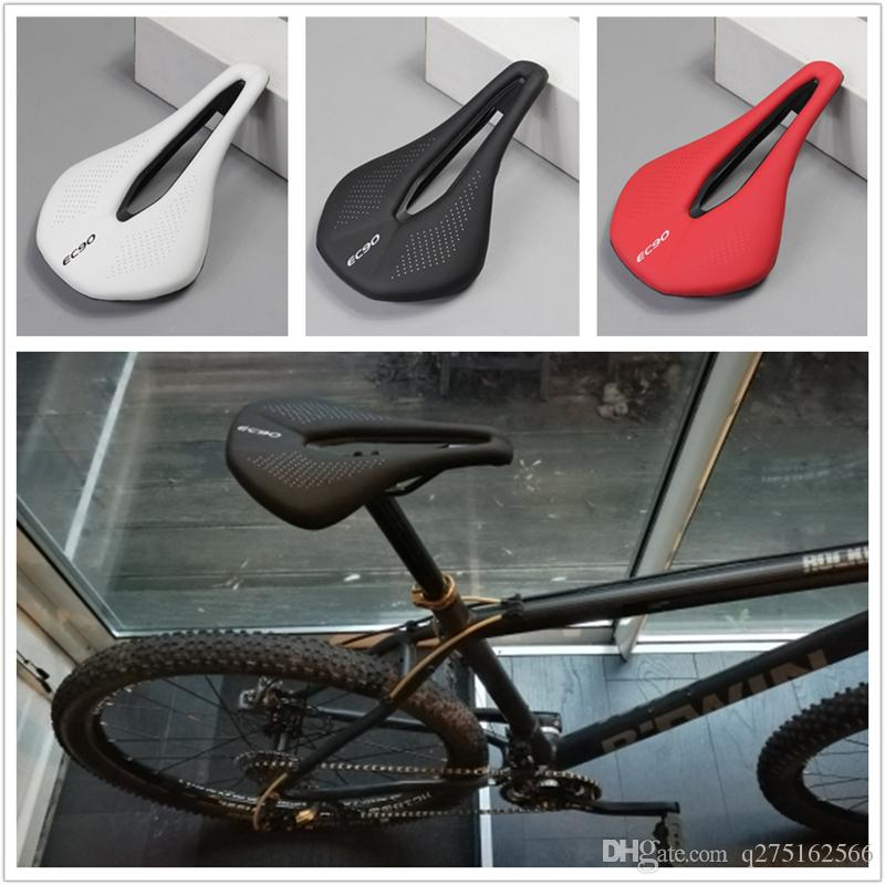 design geometry with PU leather and EVO expert mountain road bicycle saddle and titanium 0round arch mtb road saddle