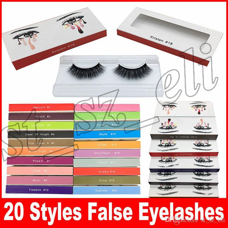 False Eyelashes Handmade Natural Long Thick Eyelashes Soft Fake Eye