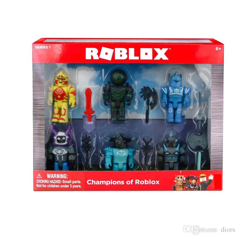 20sets DHL free ship 6pcs/1lot Roblox Action Figure 7 5cm Juguets Toy Game  Figuras Roblox Boys Toys Brinquedoes Without Box Christmas Gift