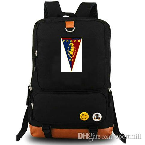 Szczecin Backpack Pogon The Dockers Football Club School Bag ... 9628270558