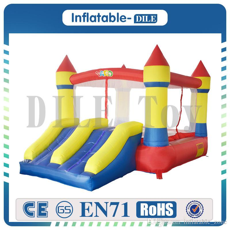 Inflatable Jumper Bouncy Castle Nylon Bounce House Jumping House Trampoline Bouncer With Free Blower For Kids