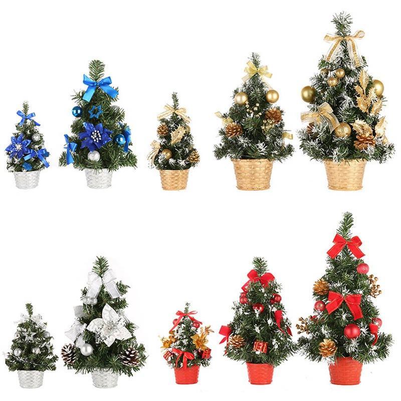 christmas tree decoration holiday home mini artificial trees christmas decorations for home xmas gift 20cm30cm 40cm vintage christmas decorations white - Mini White Christmas Tree