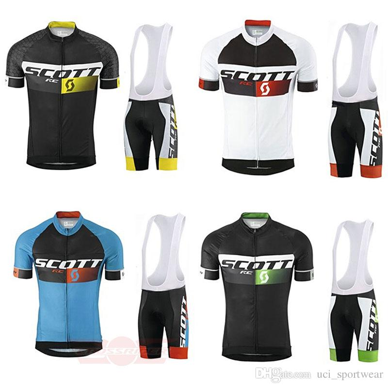 Crossrider summer SCOTT cycling jersey team bike wear clothes high quality MTB Ropa Ciclismo pro cycling clothing mens short bib sets