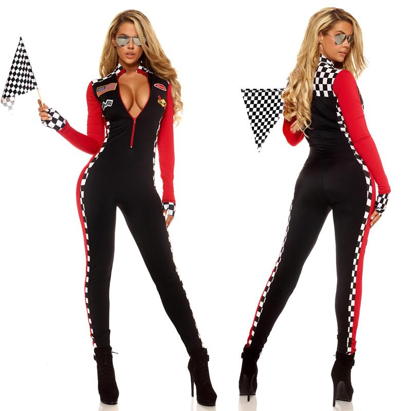 Sexy race car driver costume picture 92