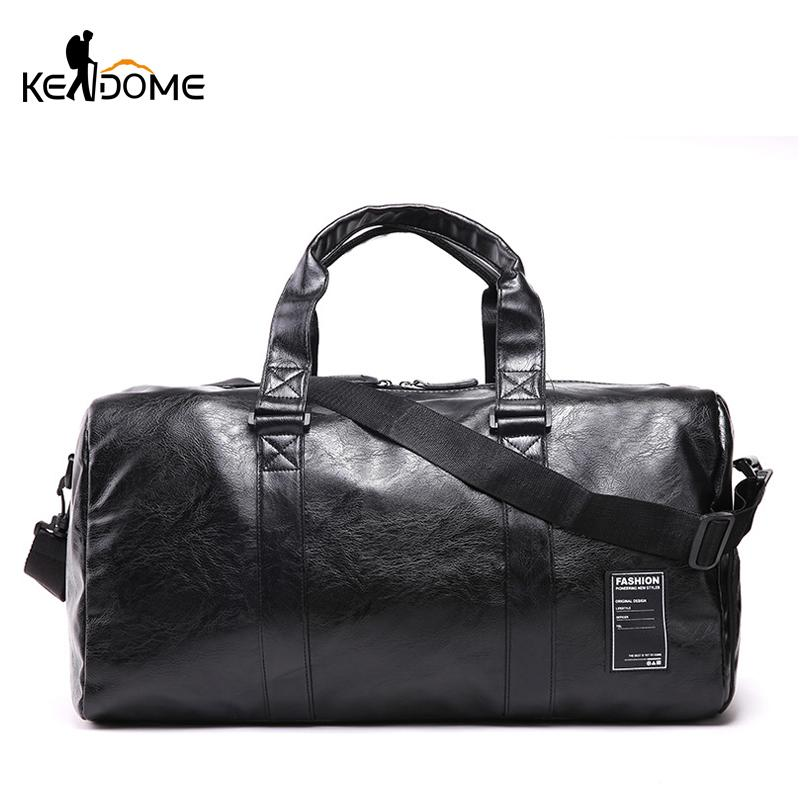 647c148840fa Pu Leather Gym Man Waterproof Female Sport Shoe Bag for Women Fitness Over  the Shoulder Yoga Duffle Bag Travel Handbags XA945WD
