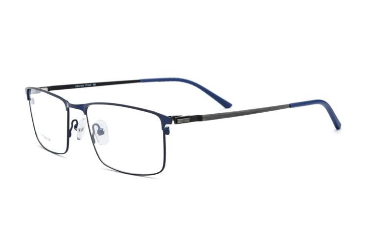 Compre Aleación De Titanio Gafas Sin Tornillos Gafas Coreanas Marco ...