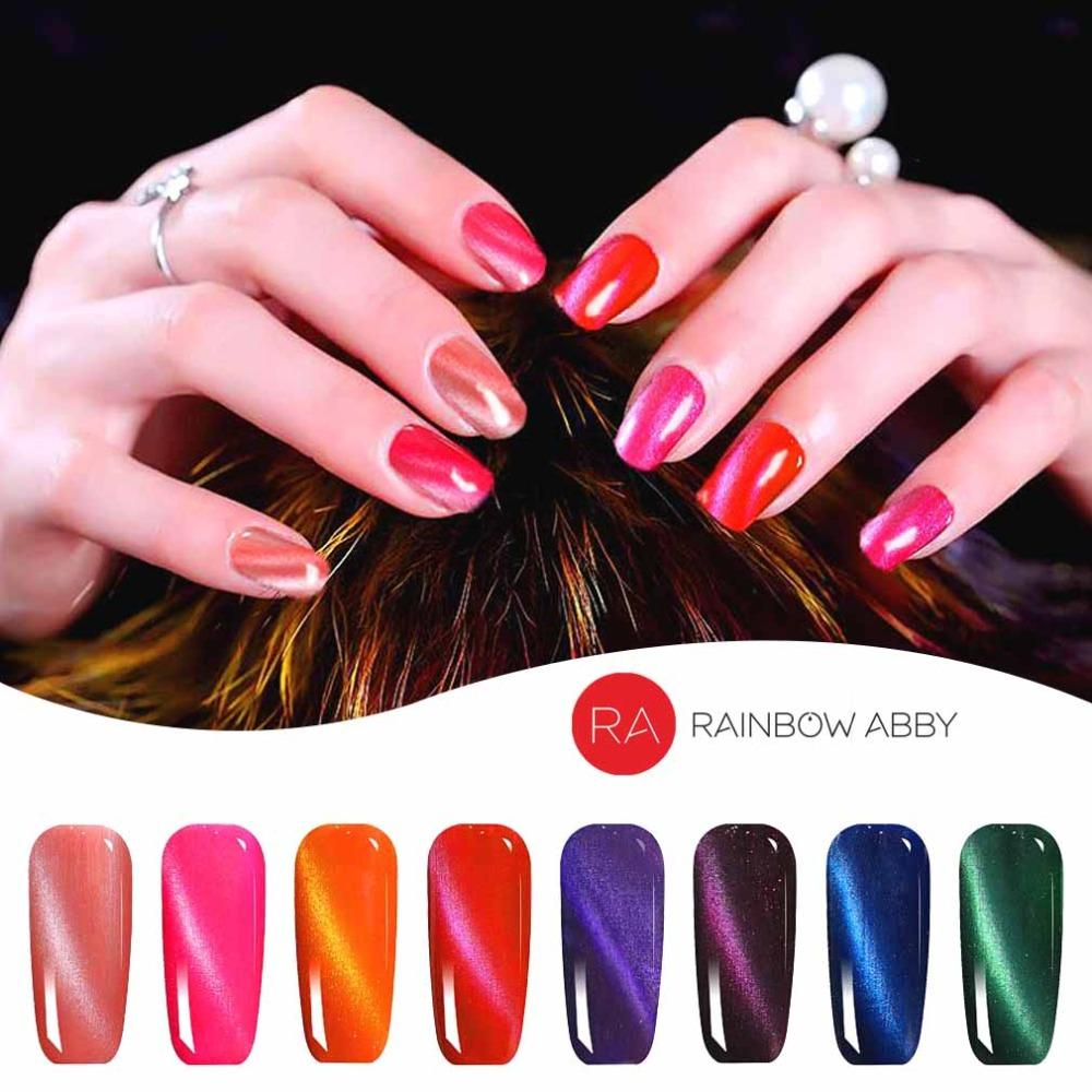 Chameleon 3d Cat Eye Nail Polish Magnetic Aurora Series 6ml Varnish